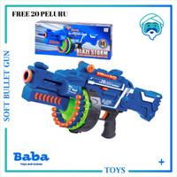 BLAZE STORM GUN 7050 ( REPLIKA NERF ) ORIGINAL NEW