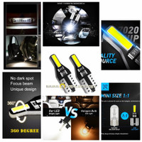 Lampu LED BAR T10 Senja Plat Speedo Motor Mobil AC DC 7020 ARROW MODEL
