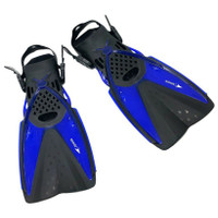 Kaki Katak Sepatu Renang Selam Diving Snorkeling Speeds 017-2403 - Biru, S-M