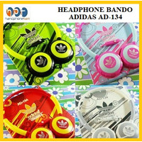 Hedphone Bando ADIDAS AD-134 Headset Handsfree Stereo Jack AD 134