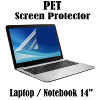Laptop / Notebook 14 inch PET Screen Guard Protector Anti Gores -Clear