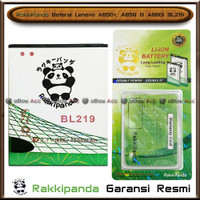 Baterai Lenovo A850 Plus A856 A880 BL219 Double Power Batre RakkiPanda