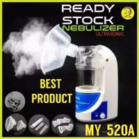 Nebulizer Ultrasonic OKA-517 Alat Uap Asma Pernapasan Dewasa Anak