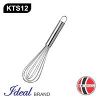 IDEAL KTS12 Pengocok Telur / Adonan / Ballon Whisker Stainless (30CM)