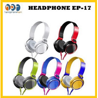 Headphone Extra Bass EP-17 Stereo Bass Headphones With Microphones