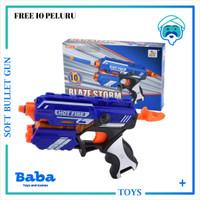 BLAZE STORM GUN HOT FIRE 7036 ( REPLIKA NERF) ORIGINAL NEW