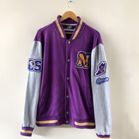 Jaket Varsity New Balance Like Lakers Colour Second