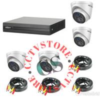 paket cctv 4 channel hikvision paket 4 kamera outdoor hikvision 1.3 mp