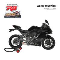Knalpot R9 ZETA R SERIES Fullsystem for Kawasaki ZX25R