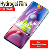 Hydrogel Anti Gores Samsung Galaxy M51 Bukan Tempered Glass
