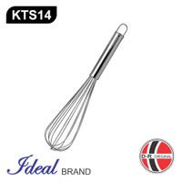 IDEAL KTS14 Pengocok Telur / Adonan / Ballon Whisker Stainless (35CM)