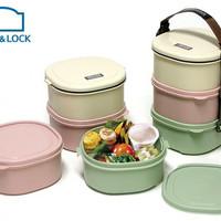Rantang Plastik Lock & Lock ori