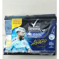 Rexona Pria Deodorant Antiperspirant Sachet / 1 Lusin (12 Pcs) / 9g