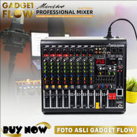 Mixer Soundcard Recording Audio Interface Microverb Election 8 Channel