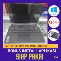 LAPTOP LENOVO V14 INTEL CORE I3 GEN 10 RAM 4GB LAYAR 14 FHD SSD 256GB