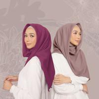Hijab Wanita Plain Scarf Voal Diario Purple Series