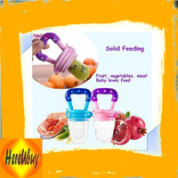 IMPORT - Empeng Bayi Dot Buah Baby Food or Fruit Feeder Bahan Silikon