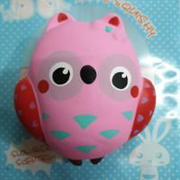 Squishy Murah Jumbo Pink Owl / Burung Hantu