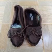 MINNETONKA/Slip on wanita import/Sepatu Second import/Size 37-38