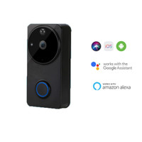 Dings Bell Pintu dengan Kamera Pintar Smart Home - Smart Door Bell