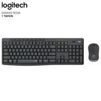 Logitech MK295 Silent Wireless Combo Keyboard dan Mouse