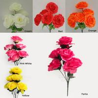 Bunga Artificial / Palsu Mawar Rose Asia X6