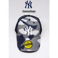 topi baseball NY yankees camouflage jaring import UNISEX ( FREE BOX )