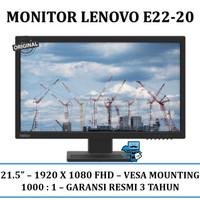 "Monitor Lenovo Thinkvision E22-20 21.5"" Anti Glare"
