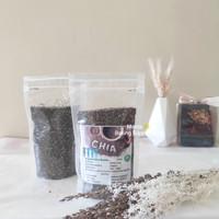 Organic Chia Seed Biji Chia Seeds Organik 500 gr 1 / 2 Kg Premium