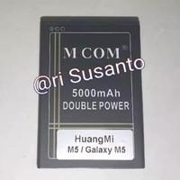 Baterai HuangMi M5 / HuangMi Galaxy M5 KF36 Double Power 5000mAh