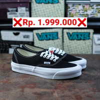 Sepatu Pria Wanita Vans Authentic Vault OG Black White 2020 Original