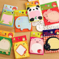sticky notes animal - memo fancy - catatan