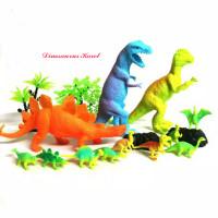 Mainan Binatang Dinosaurus Karet Jurassic World