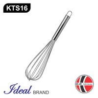 IDEAL KTS16 Pengocok Telur / Adonan / Ballon Whisker Stainless (39CM)