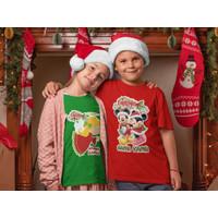 Baju Kaos Anak Natal / Christmas Banyak Motif Gratis Cetak Nama