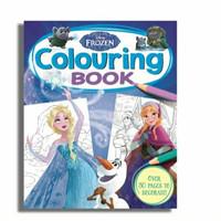buku mewarnai anak disney frozen colouring book