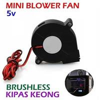 5V Mini Blower Fan / Kipas Brushless DC 5 V Cooling Turbo Cooler