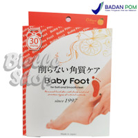 Baby Foot for Soft and Smooth Feet - Easy Pack 30 Minutes Masker Kaki