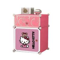 Nakas Hello Kitty Nakas Kartun Hello Kitty Rak Laci Portable Multifung