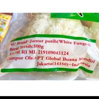 jamur putih, white fungus REPACK 50GRAM