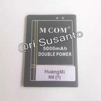 Baterai HuangMi M5 / Huang Mi M5 - Gigi Tembaga Tengah - Double Power
