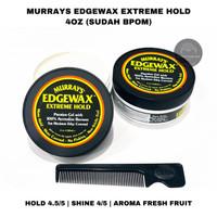 POMADE MURRAYS EDGEWAX EXTREME HOLD 4pz free sisir