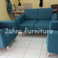sofa tamu scandinavian retro