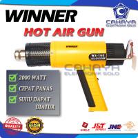 Hot Air Gun Blower Panas Pemanas Stiker Kaca Film Heat Gun Winner