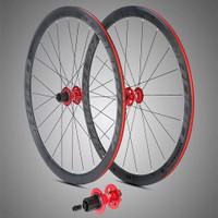 Wheelset retrospec wheelset 700c twitter disc Black on black thru axle