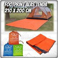 Flysheet Tenda Bisa Jadi Footprint/Alas Tenda 210cmx200cm