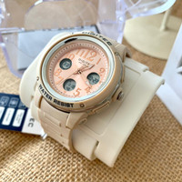 Jam tangan wanita digitec 3091 tali rubber dualtime original pink