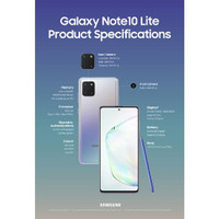 Samsung Note 10 Lite - Garansi RESMI