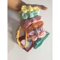 bandana bayi headband miniovale top knot
