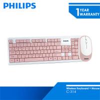Philips Keyboard Wireless Mouse Combo C-314